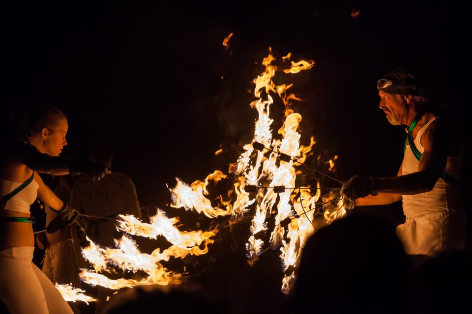 Fire Dancers Burning Man 2012 208