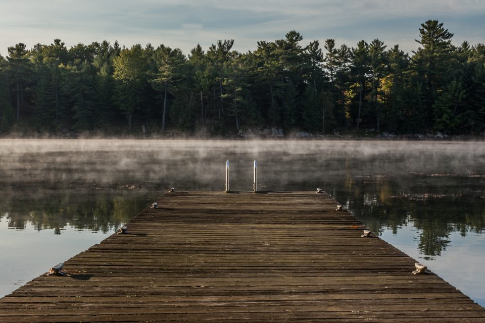 Misty Morning in the 1000 Islands