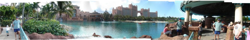Atlantis Paradise Island Panorama with Dad