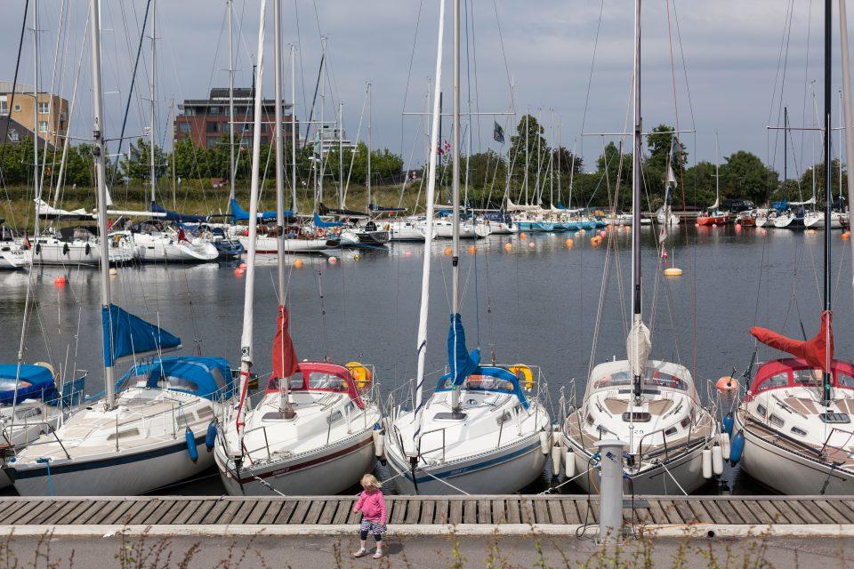 Young Girl on Dock Copenhagen Denmark 069