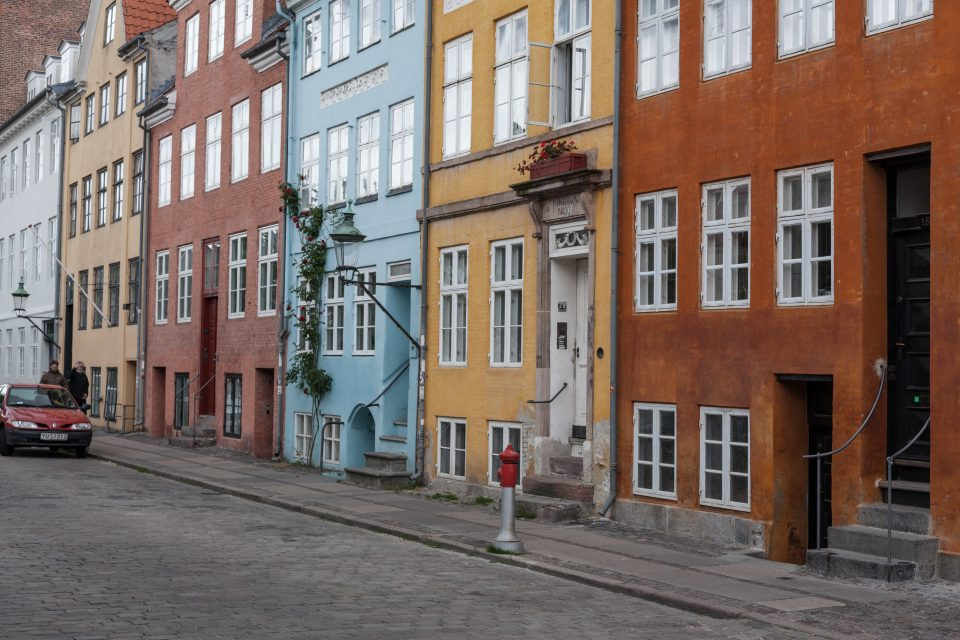 Colorful Buildings Copenhagen Denmark 081