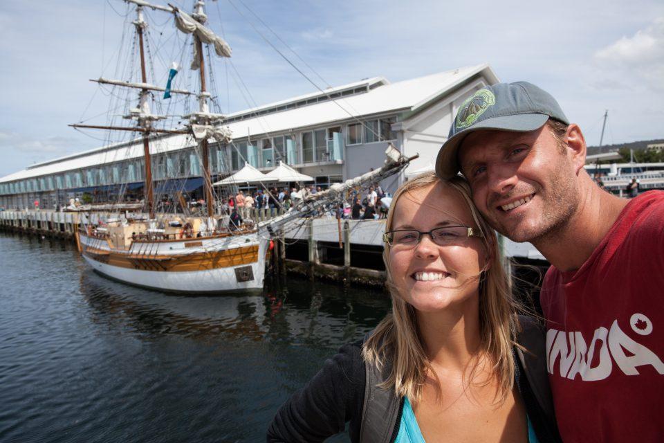 Dorothy and I Hobart Tasmania