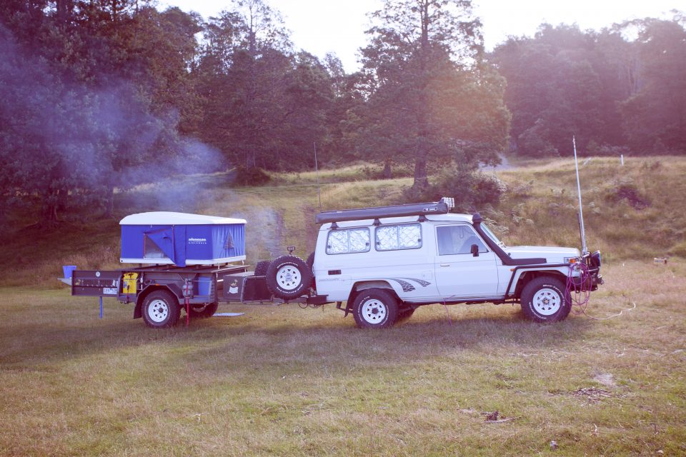 4WD Camping Setup Australia