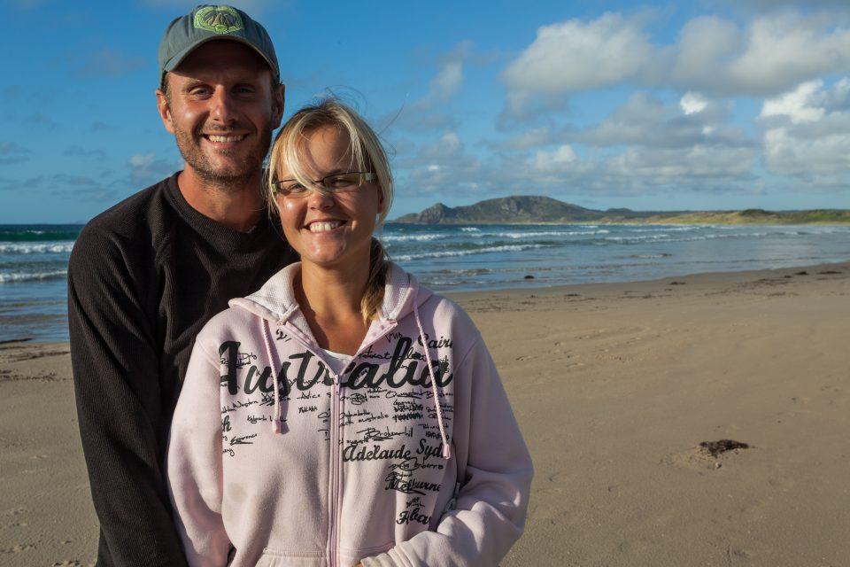 Dorothy and I Green Point Tasmania