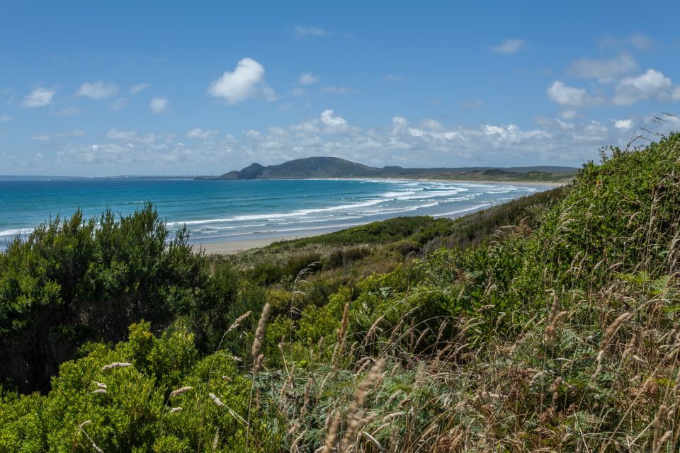 Ocean Green Point Tasmania