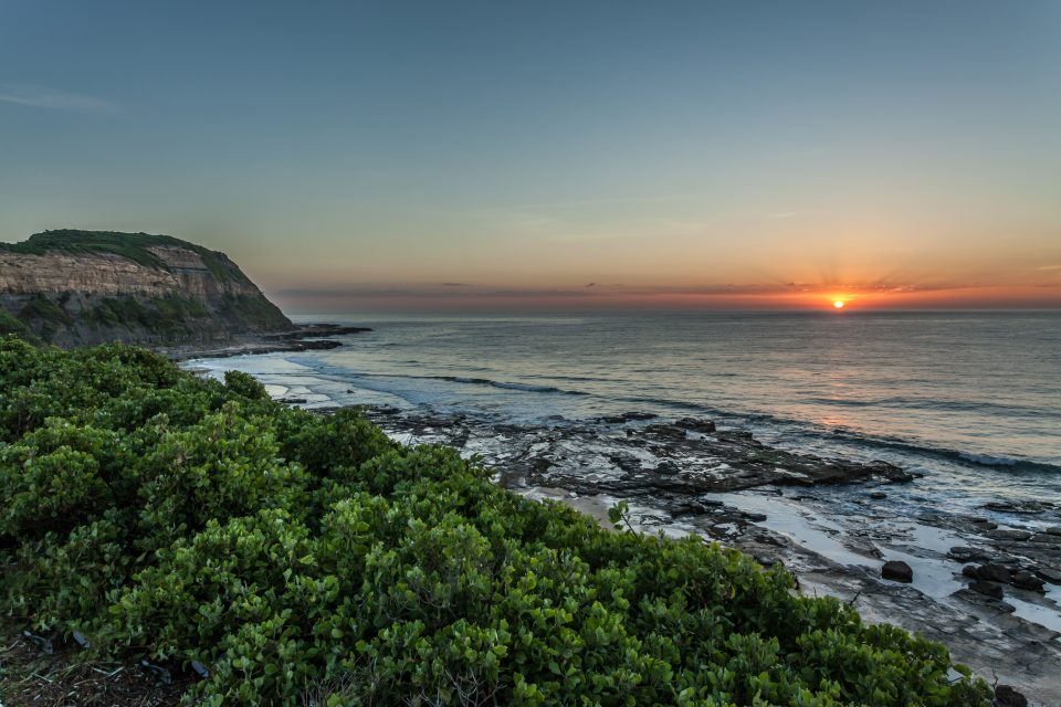 Merewether Australia at Sunset
