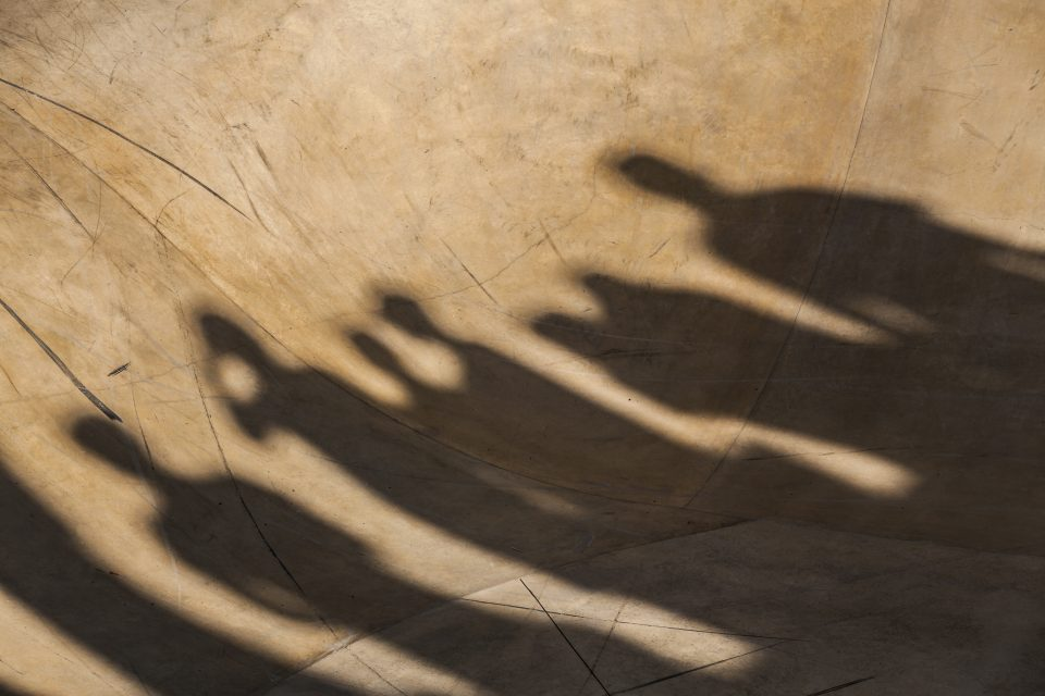 Shadows on the Bowl Merewether Australia