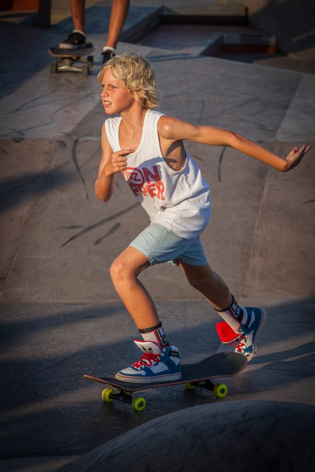 Young Skateboarder Merewether Australia