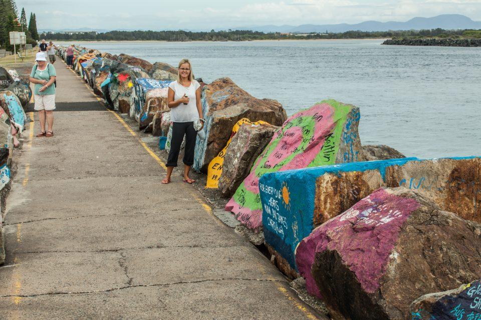 Painted Rocks Port Macquarie