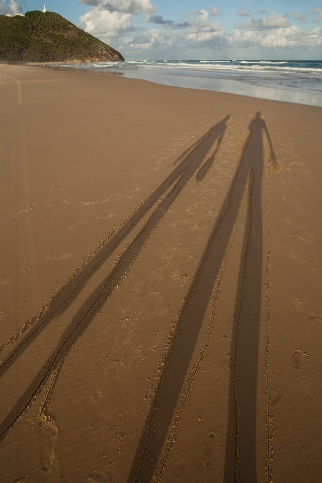 Outlined Shadows Smoky Cape Australia