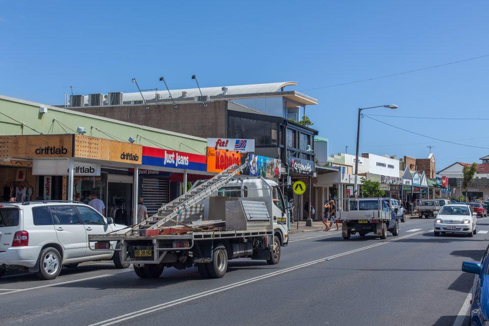 Storefronts Byron Bay Australia