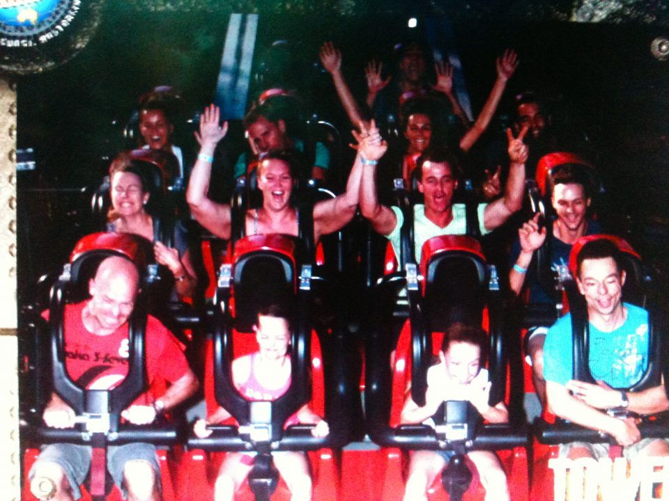 Rollercoasters Make Me Sleepy at Dreamworld Australia