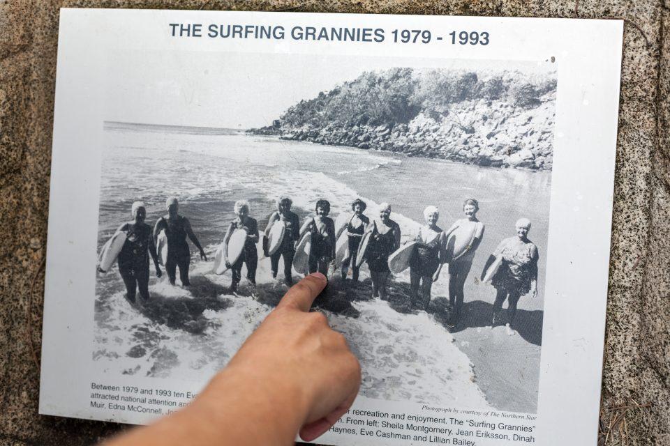 Surfing Grannies