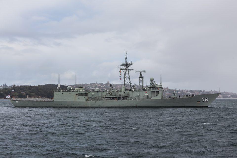 Australian Naval Ship