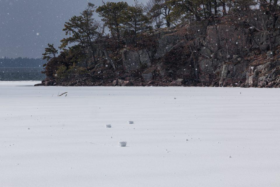 Rare Weather Phenomenon SnowRollers
