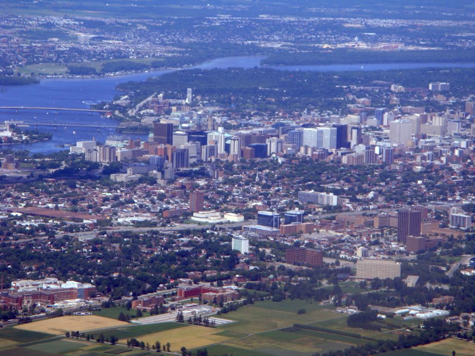 ottawa aerial photo