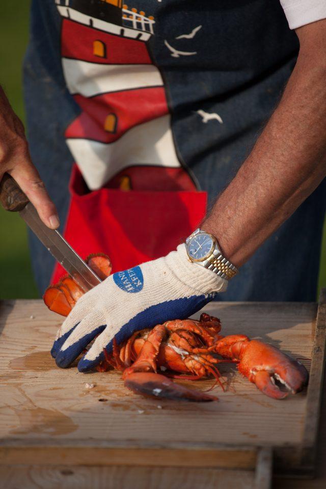 Cutting a Lobster