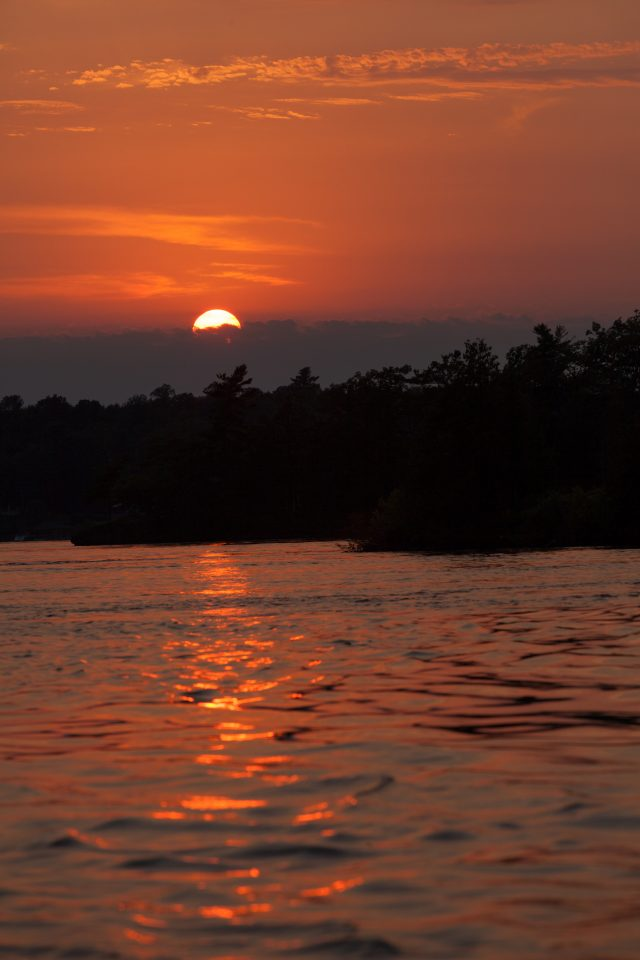 1000 Islands Sunset