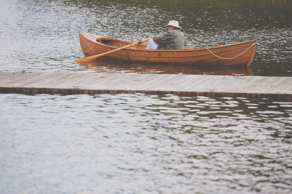 Vintage Rowboat