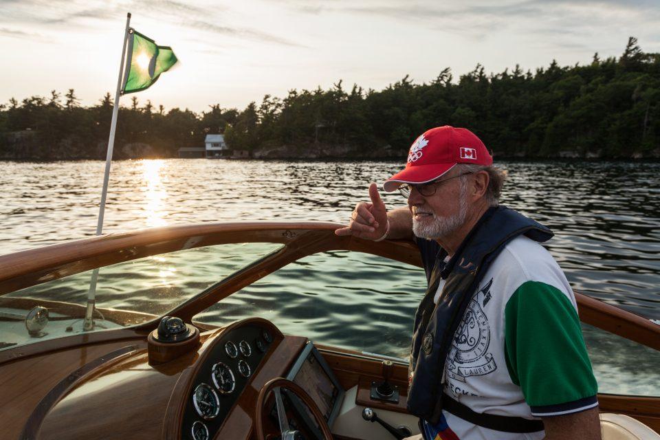 Dad Boating