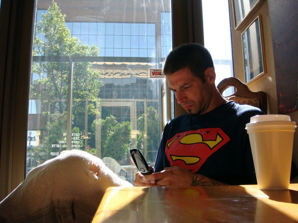 Rick With Superman Shirt