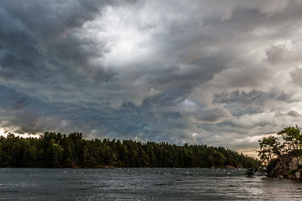 Storm On The River