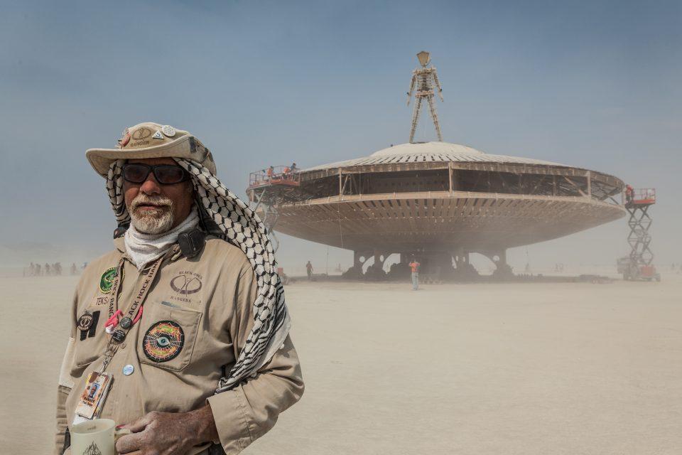 Ranger Tek Sage Is The Man! Burning Man 2013