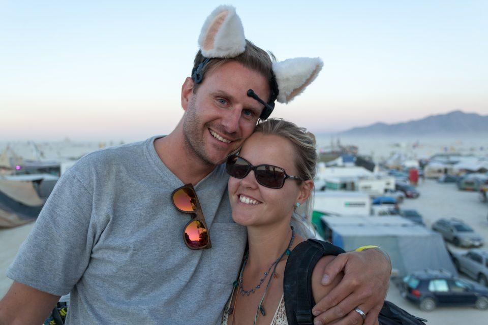 Dorothy and I Burning Man 2013