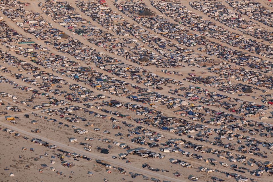 Burning Man 2013 Aerial Photo