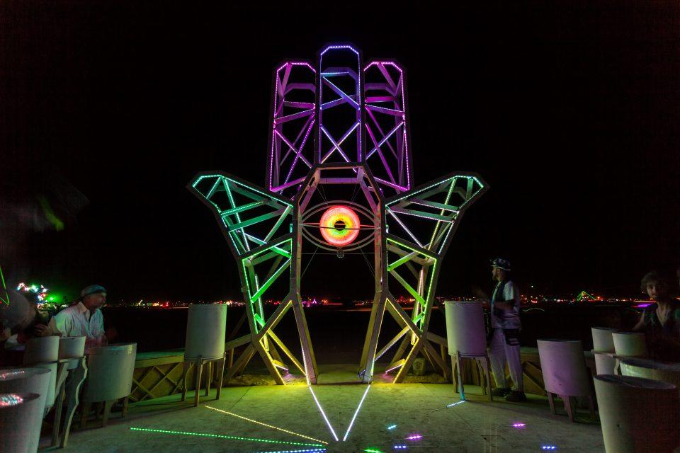 Hand Of Inspiration Burning Man 2013