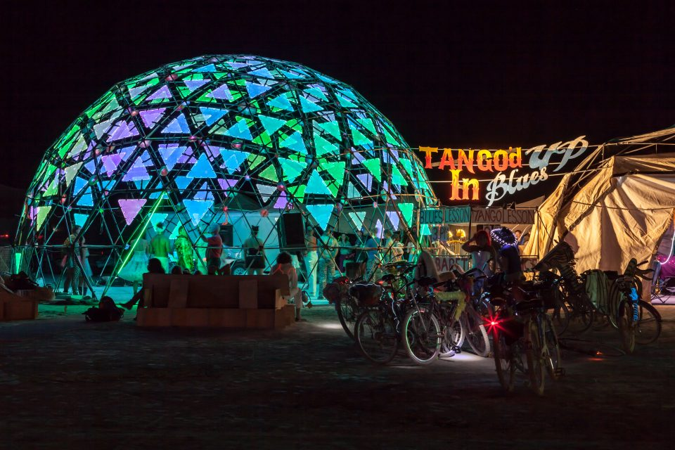 Tango'd Up In Blues Burning Man 2013