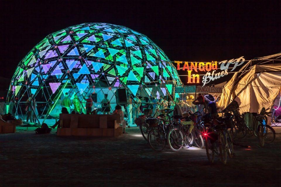 Tango'd Up In Blues Burning Man 2013