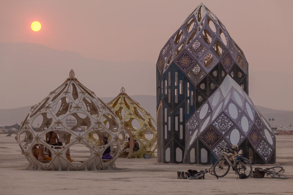 Zonotopia and the Quasicrystalline Conjunction Burning Man 2013