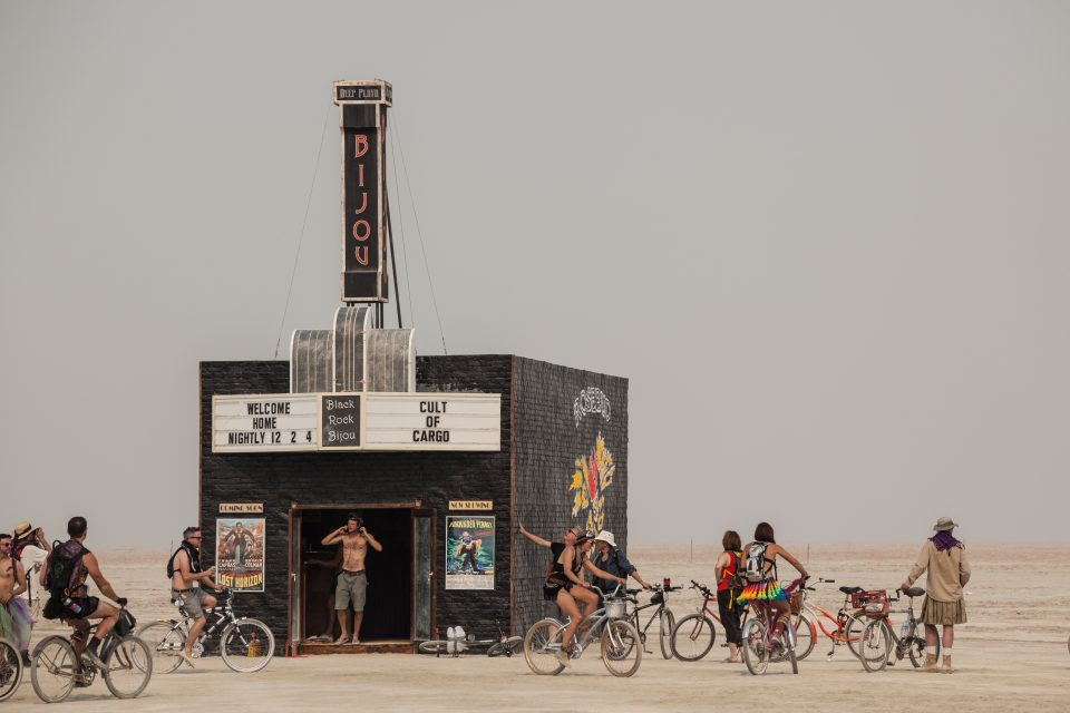 Black Rock Bijou Theater Burning Man 2013