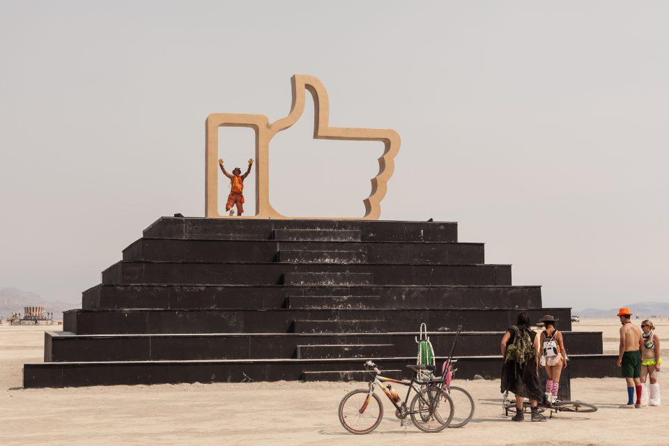 Like4Real by Dadara Burning Man 2013