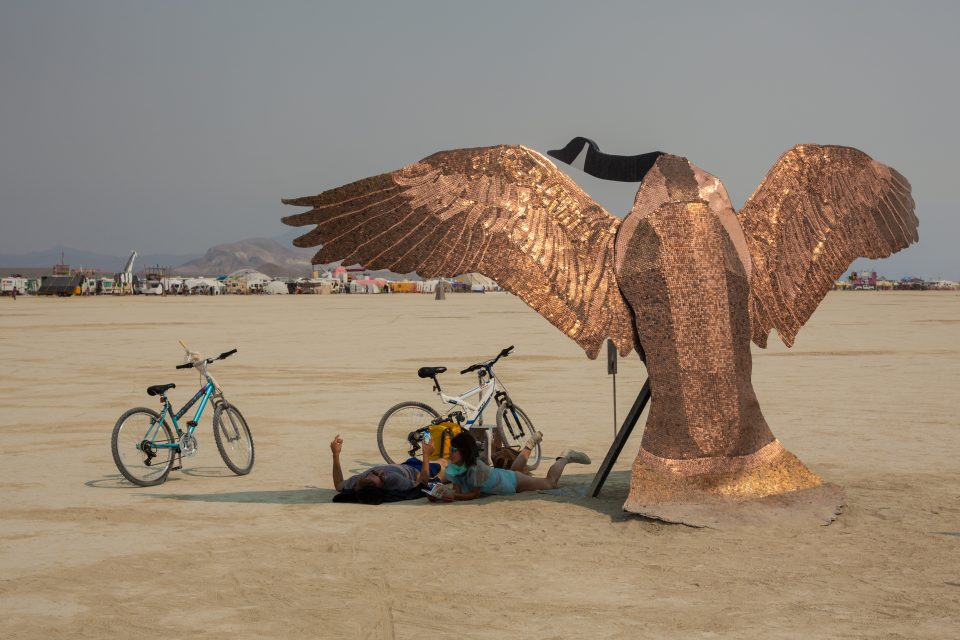 Penny The Goose Burning Man 2013