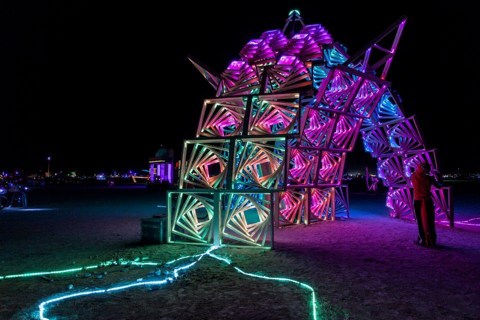 Marvin, The Vortexagon Burning Man 2013