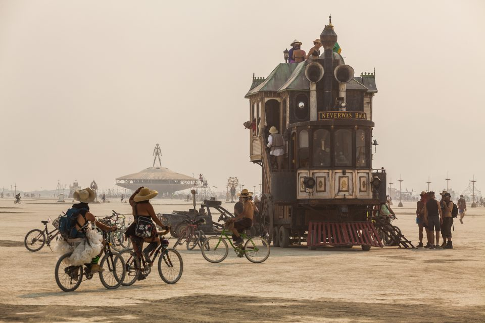 Neverwas Haul Burning Man 2013
