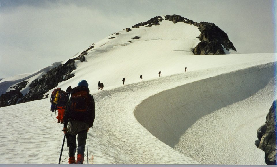 Hiking on a Glacier Outward Bound Western Canada August 2-22 1997