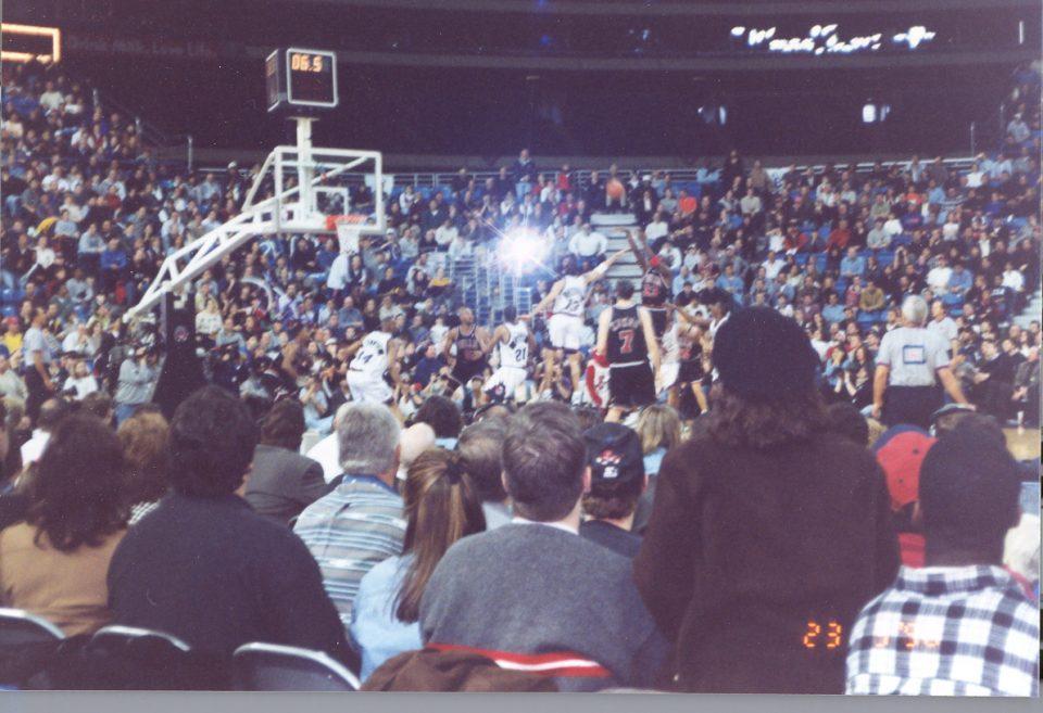 Michael Jordan Hits a Game Winner