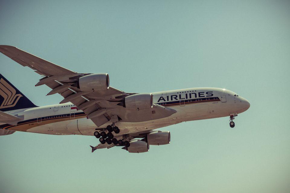 A380 Landing At LAX