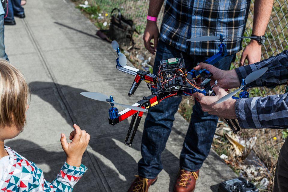 Chris Anderson's Drone XOXO 2013